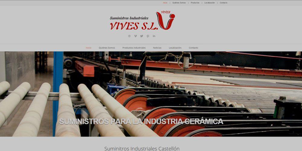Nueva web Vives
